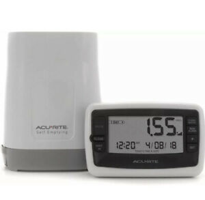 AcuRite Wireless Digital Rain Gauge with Self-Emptying Collector with...
