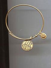 live music bracelet Alex & Ani gold