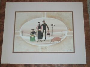 """BUCKLEY MOSS """"SEEDS OF LIFE"""" LIMITED EDITION HAND SIGNED OFFSET LITHOGRAPH"""