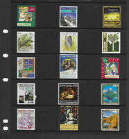 New Zealand  6 pages large collection stamps