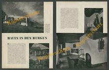 Welzenbacher Alpin-Architektur Moderne Ruhpolding Gnaig Chiemgau Schmucker 1939