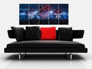 "DEFQON.1 BORDERLESS MOSAIC TILE WALL POSTER 40""x 24"" HARDSTYLE Q DANCE QLIMAX N2"