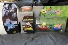 Radio Shack ZipZaps 1995 Mazda Rx-7. Garage Carring Case, SpongeBob Square Pants