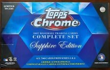 2017 Topps Chrome Sapphire Pick Your Player 400-599 Only 250 of Each Card Made