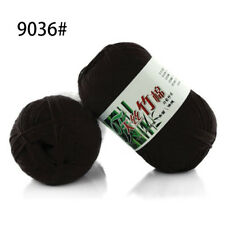 60 Colors Soft Bamboo Crochet Cotton 50g Knitting Yarn Baby Knit Wool Yarn a36