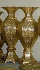 "60"" Large Antique Style Palace/Hotel Custom Crafted Handmade Gilt Bronze Vase!!"