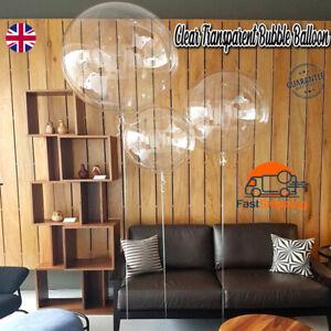 18-36 inch PVC Clear Bubble Balloon Transparent Wedding Balloon Party Decor Xmas