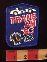 Vtg 1993 TRANS AM CHICAGO IL REGION SCCA Sports Car Club Auto Patch C81D