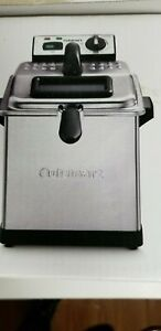 Cuisinart CF 170 Deep Fryer 3.4 Quart Stainless Steel - Silver