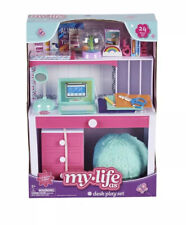"My Life As 18"" Desk Play Set Chair Accessories Set Lamp Brand New American Girl✨"
