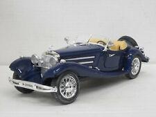 Mercedes-Benz 500 K Roadster (1936), dunkelblau, Bburago, 1:20, o. OVP