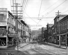 MAIN STREET IN GLOUCESTER, MASSACHUSETTS, CIRCA 1905 - 8X10 PHOTO (AA-654)