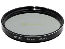 58mm. filtro Neutral Density ND 2x