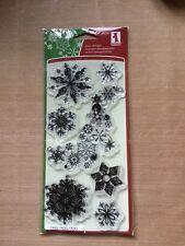 INKADINKADO SNOWFLAKES A-PLENTY Christmas Clear Stamps 98397
