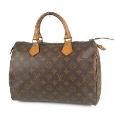 Auth LOUIS VUITTON Vintage M41526 Monogram Speedy 30 Hand Bag France F/S 7856b