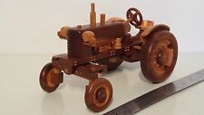 Allis Chalmers D17 or D19 1/16 carved custom wooden farm tractor replica