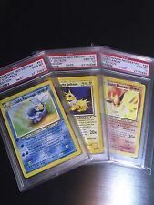 PSA 10 GEM MINT Light Flareon Vaporeon Jolteon 1st Ed. Neo Dest Pokemon Low Pop