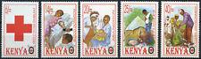 Kenya 1996 SG#707-711 Red Cross Society MNH Set #E4542