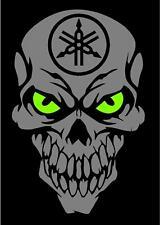 YAMAHA Skull Decal SVR Grizzly Kodiak Raptor YFZ YXZ1000R R1 R6 Sidewinder ATV