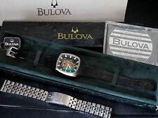 NUOVO NEW RARE BULOVA Accutron Spaceview Anniversary jubiläumsuhr-un vecchio magazzino nos