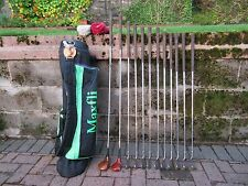 REGULAR ,GOLF SET ,IRONS WOODS AND BAG