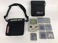 New listing Nintendo Original Gameboy Console Dmg-01 Lot 7 Games Zelda, Mario, Tetris, Case