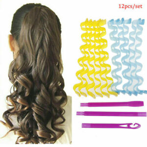 25-55cm Water Wave Magic Curlers Formers Leverage Spiral Hairdressing Tool
