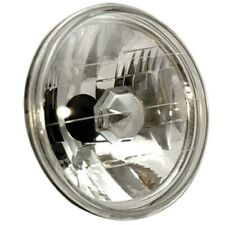 ANZO Universal Headlight Universal H4 7in Round Halogen Universal Headlight - an
