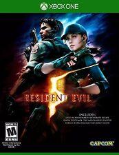 NEW Resident Evil 5 (Microsoft Xbox One, 2016)