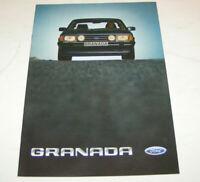 Prospekt / Broschüre Ford Granada '82  - Limousine und Turnier - Ausgabe 1983