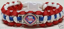Philadelphia Phillies Red, White, & Blue Handmade Paracord Bracelet or Lanyard