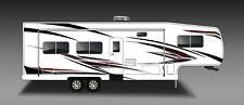 Rv, Trailer, Toy Hauler, Camper, Motor-home Large Decals/Graphics Kit-K-0010