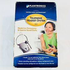 Plantronics Telephone Headset System S12 Hands Free Superior Sound Quality NIB
