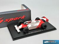 McLaren MP4/1 #7 Winner British GP 1981 John Watson Spark S4300 1:43