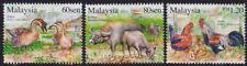 MALAYSIA 2015 Farm Animals 3v set MNH @S1951