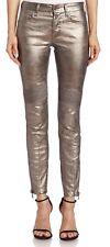 NEW  Ralph Lauren  Metallic Moto JeanS  Skinny Jeans 29