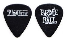 7th Rail Crew Black Tour Guitar Pick