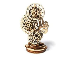 UGears Steampunk Clock Wooden 3D Model Kit [UTG0060]