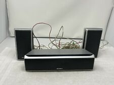 New listing Sony Surround Sound Speakers Set of 3 Speaker System Ss-Ts43 L R Center Ss-Ct43