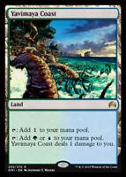 Yavimaya Coast x4 Magic the Gathering 4x Magic Origins mtg card lot