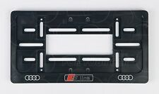 S-LINE MODEL FRAME USA for LICENSE PLATE PLATES S3 S4 S6 A5 S5 A6 A7 A8 RS4 RS6