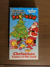 Hanna-Barbera's Pac-Man CHRISTMAS COMES TO PAC-LAND Animated VHS UNTESTED Rare!!