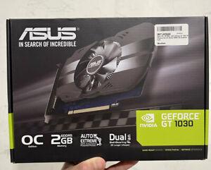 💥 Asus GeForce GT 1030 2GB Phoenix Fan OC Edition PH-GT1030-O2G HDMI DVI GPU💥