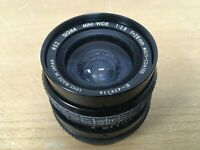 Sigma Mini-Wide II 28mm F2.8 wide Angle Lens for Pentax K