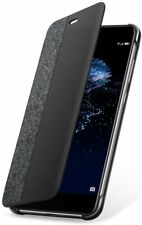 Huawei P10 Lite Case High Quality Leather Flip Protective Folio Cover Light Grey