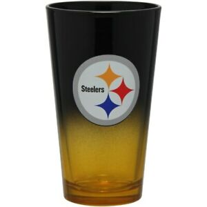 Pittsburgh Steelers NFL Ombre Pint Glass