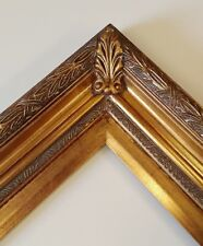 Picture Frame 11x14 Vintage Antique Style Baroque Bronze Dark Gold Ornate 2348