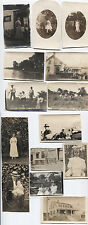 AMERICANA COLLECTION IMAGES OF FAMILY LIFE. LOT OF 14 B W.