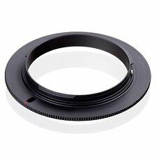 Lens Mount Reverse Macro Adapter Ring 55mm for Sony AF  DSLR Camera