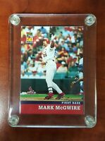 2001 Topps Post Cereal MARK McGWIRE 50 Years Baseball Card - LIMITED ISSUE